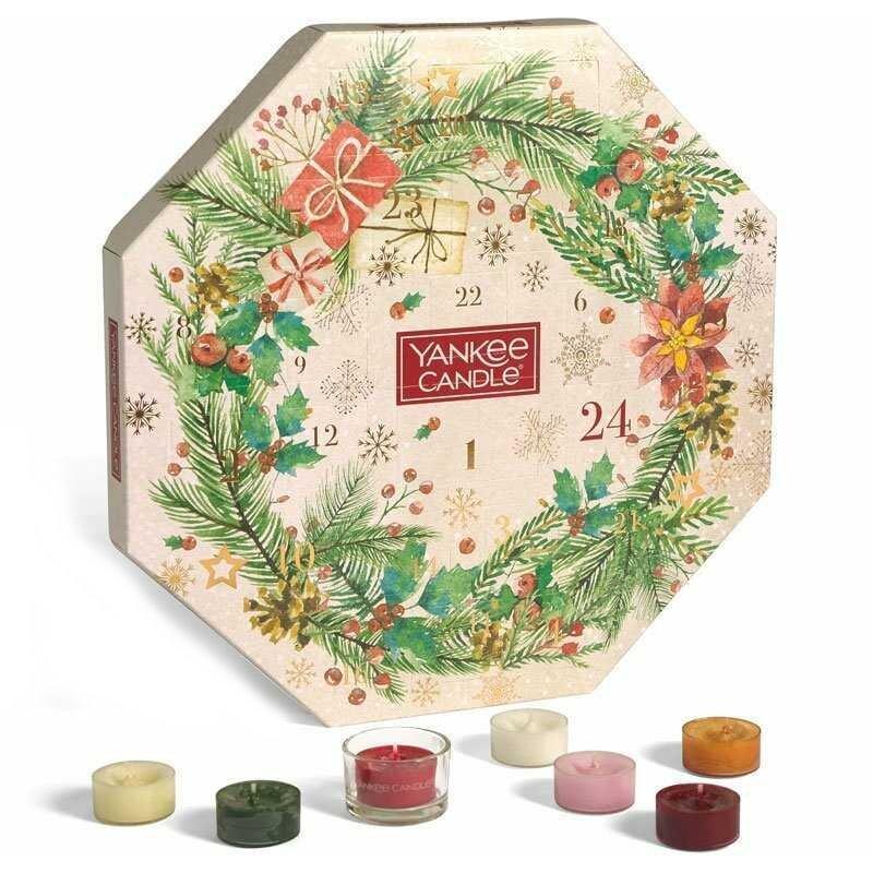 Adventní kalendář Yankee candle