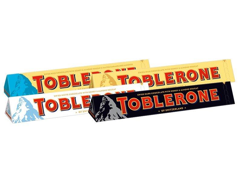 Čokoláda Toblerone - samostatně neprodejné