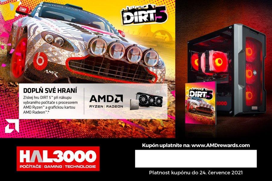 AMD kupón na hru DIRT 5