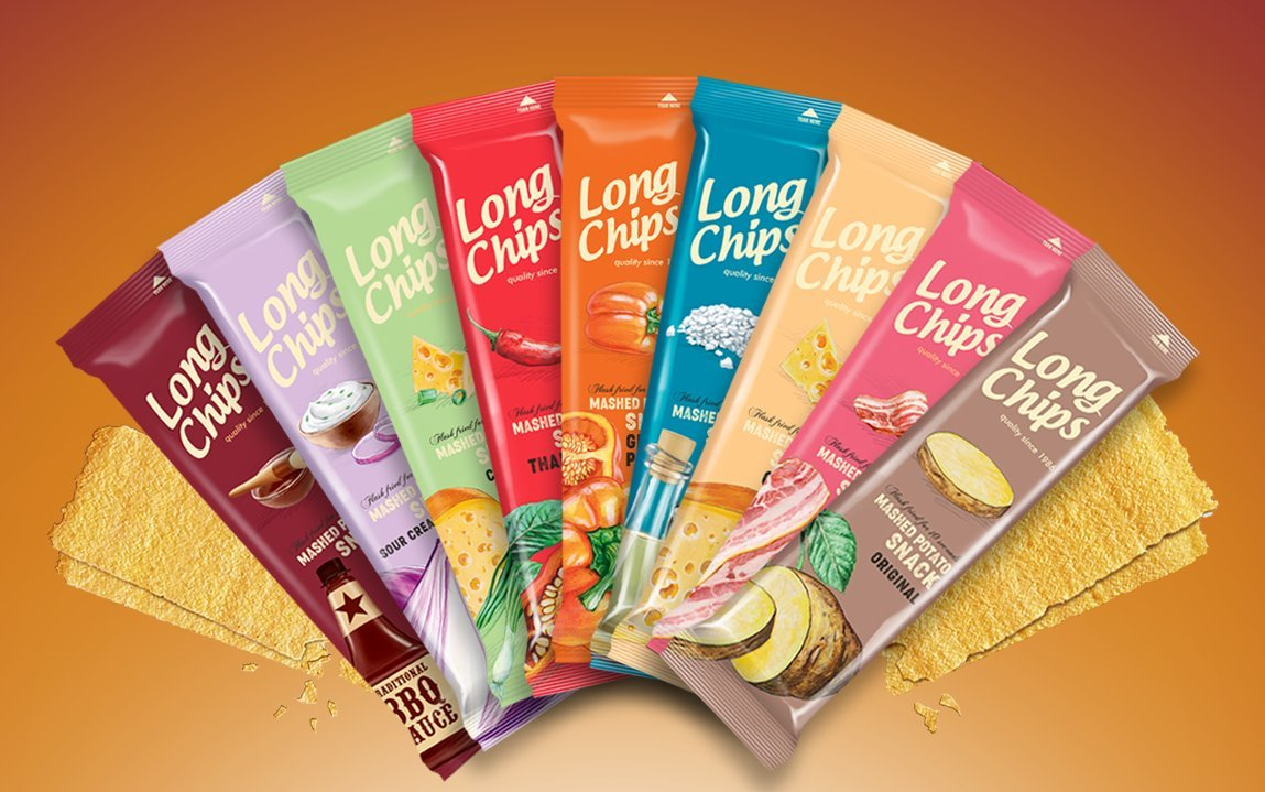 Brambůrky Long chips - samostatně neprodejné