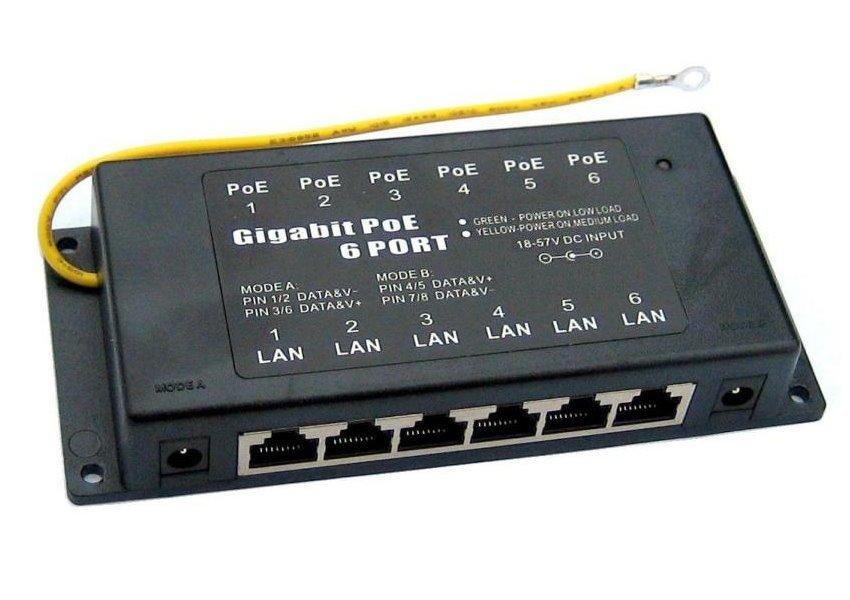 PoE injektor WaveRF POE-PAN6-GB
