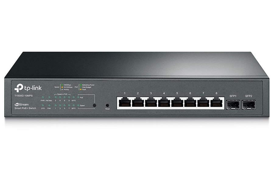 Switch TP-Link T1500G-10MPS