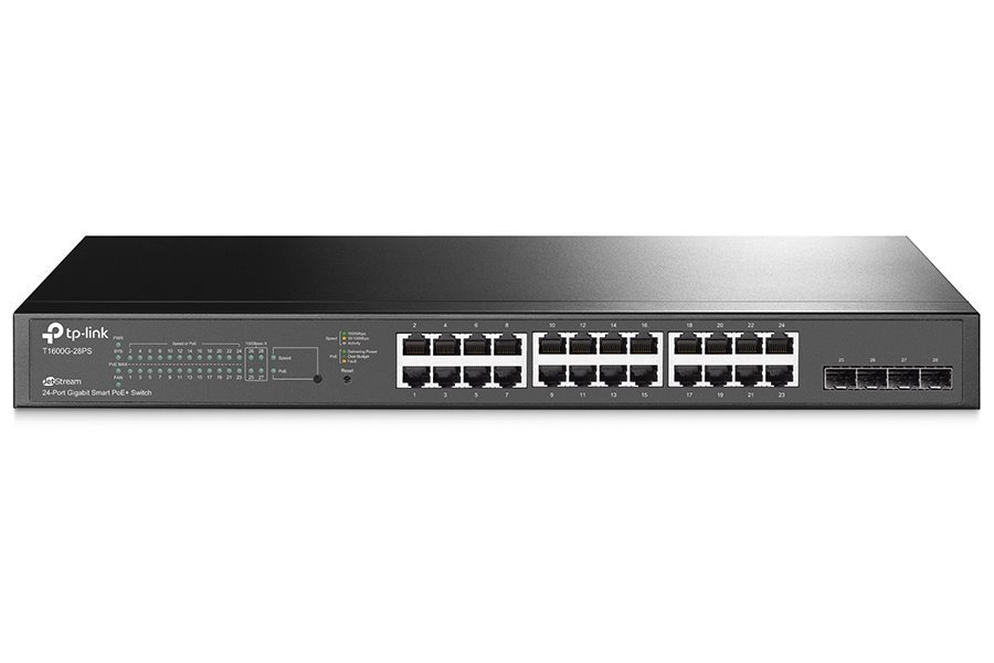 Switch TP-Link T1600G-28PS (TL-SG2424P)