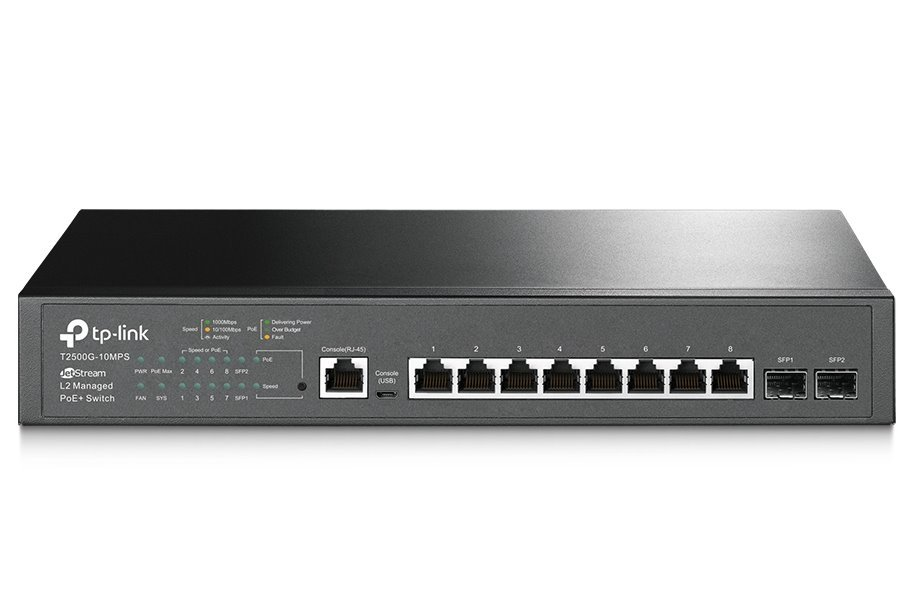 Switch TP-Link T2500G-10MPS