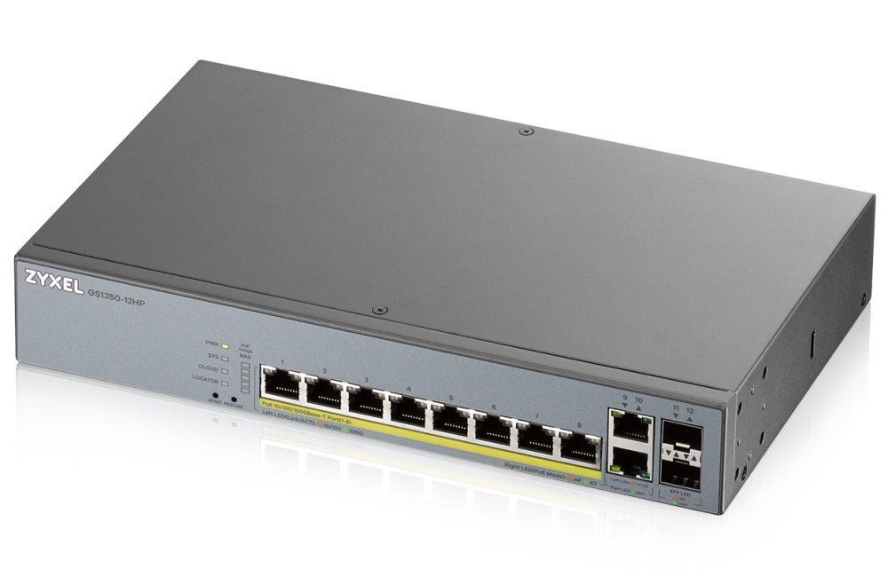 ZyXEL GS1350-12HP GS1350-12HP-EU0101F   100MEGA Distribution s.r.o.
