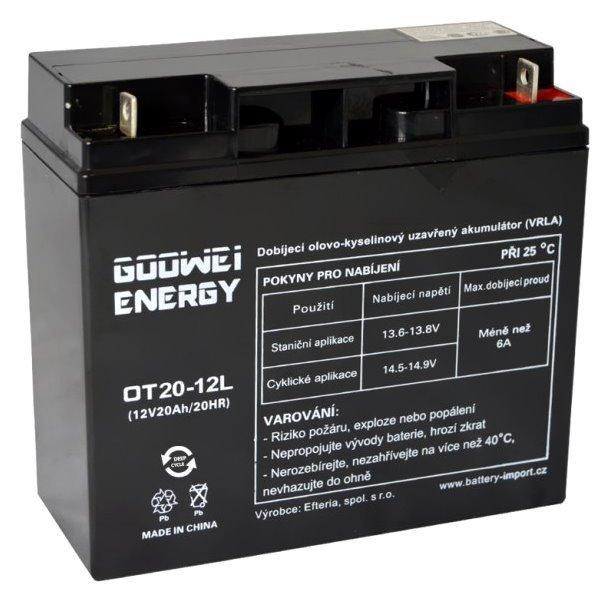 Baterie GOOWEI ENERGY OTL20-12