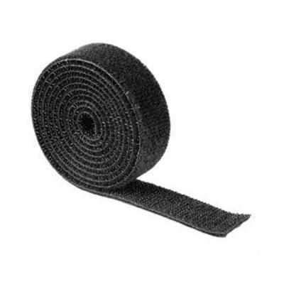 HAMA univerzální stahovací páska/ suchý zip/ 1m/ černá