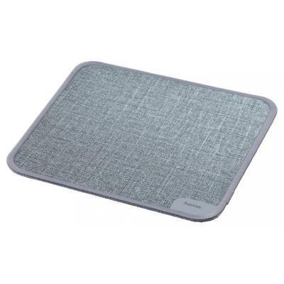 Podložka pod myš Hama Textile Design šedá
