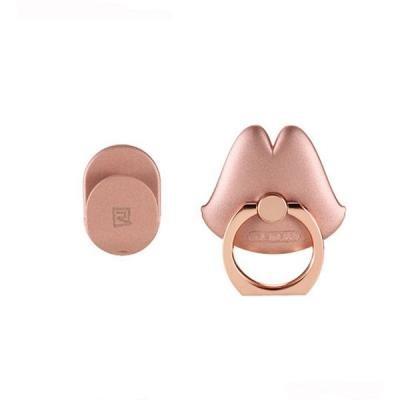 Držák REMAX RING HOLDER růžově-zlatý