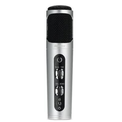 Mikrofon REMAX RM-K02 stříbrný