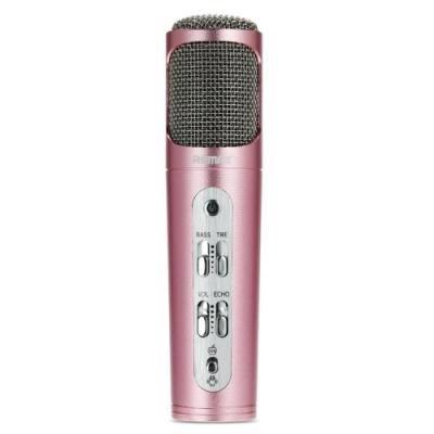 Mikrofon REMAX RM-K02 růžovo-zlatý