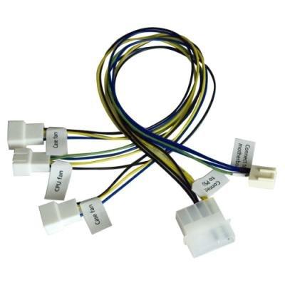 Kabel Akasa pro synchronizaci ventilátorů