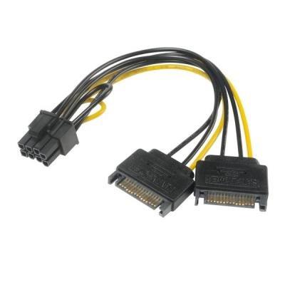 Redukce Akasa 2x SATA na 8pin PCIe 2.0