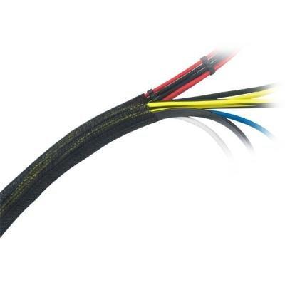 AKASA kryt na správu kabelů / AK-TK-03BK / 2m