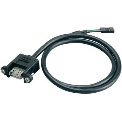 Redukce Akasa USB 2.0 60cm