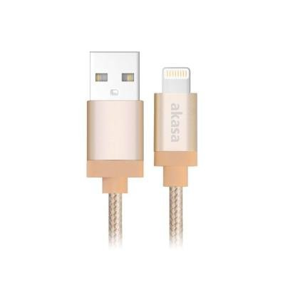 Kabel Akasa USB - Lightning 1 m