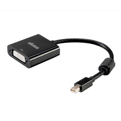 Redukce Akasa mini DisplayPort na DVI 20 cm