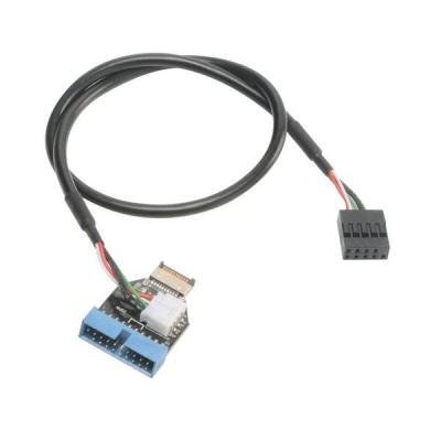 Kabel Akasa AK-CBUB38-40BK