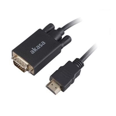 Akasa HDMI na VGA 2m černý