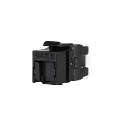 Solarix keystone c6 UTP RJ45 černý pro kleště  SXKJ-NA-BU SXKJ-6-UTP-BK-NA