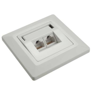 Datová zásuvka Solarix SX9-2-6-UTP-WH