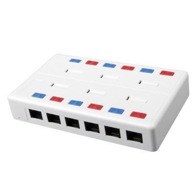 Datová zásuvka Solarix SX12-5E-UTP-WH