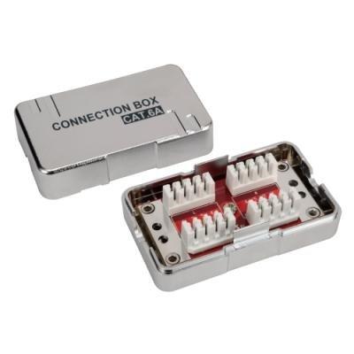 Spojovací box Solarix CAT6A STP 8p8c LSA+ Krone