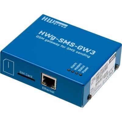 SMS brána HWg-SMS-GW3 pro odesílání poplachů