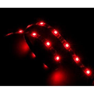 OPRAVENÉ - AKASA LED zářivka, 15xLED,12V, 60cm, červená