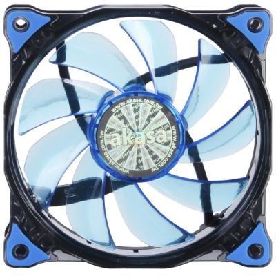 Ventilátor Akasa Vegas modrý