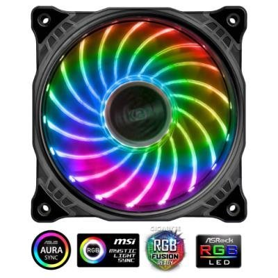 Ventilátor Akasa Vegas RGB LED 120 mm