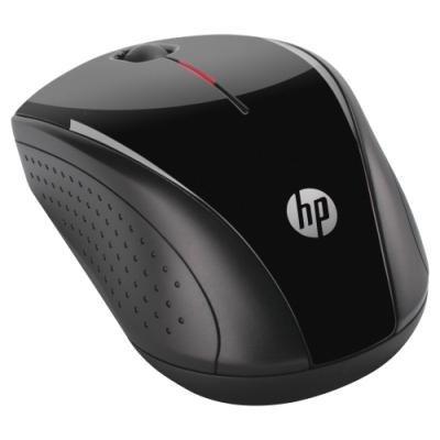 HP Wireless Mouse X3000 - myš, optická, bezdrátová, 1200 DPI, černá