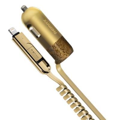 Napájecí adaptér REMAX RCC-103 zlatý