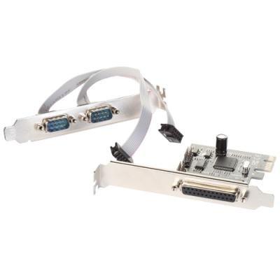 Řadič I-TEC PCI-E 2x sériový + paralelní port