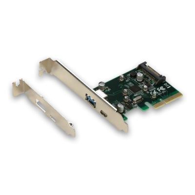 Řadič I-TEC PCI-E USB 3.1 A + USB 3.1 C