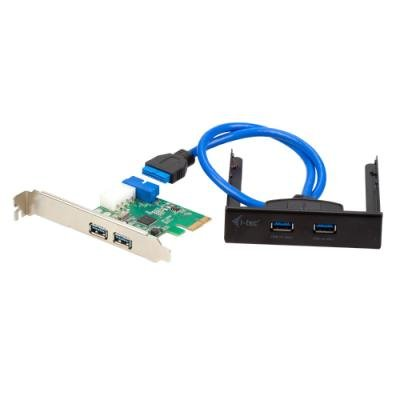 "Řadič I-TEC PCI-E 4x USB 3.0 + 3,5"" panel"