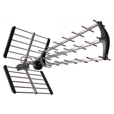 TESLA venkovní anténa TE-345/ příjem DVB-T/T2 signálu/ potlačuje LTE/ frekvenční rozsah 470-790 MHz/ zisk 15 dBi
