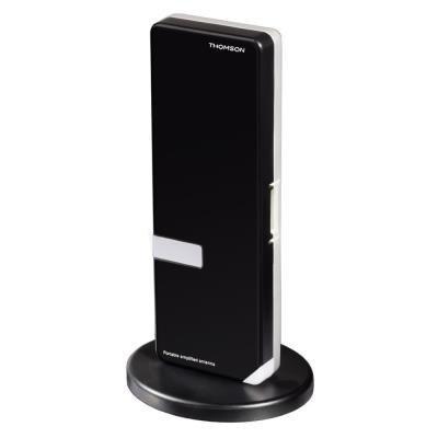 POUŽITÉ - THOMSON aktivní DVB-T/T2 pokojová anténa ANTUSB300/ 36 dB/ 30 - 950 MHz/ USB/ černá