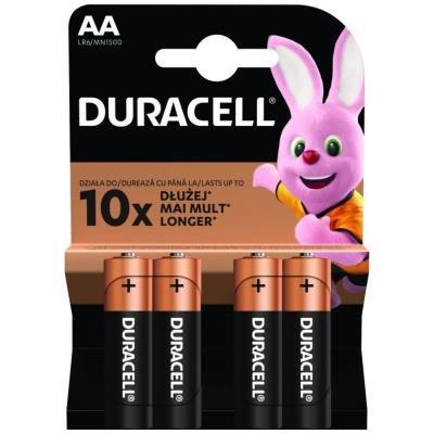 DURACELL Basic AA 4ks