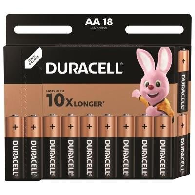 DURACELL Basic AA 18ks