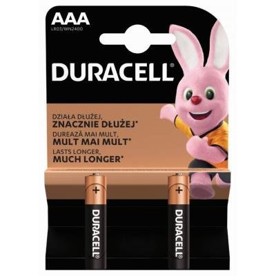 DURACELL Basic AAA 2ks