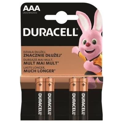 DURACELL Basic AAA 4ks