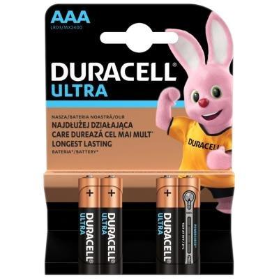 DURACELL Ultra AAA 4ks
