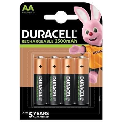 DURACELL Recharge AA 2500mAh 4ks