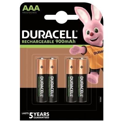 DURACELL Recharge AAA 900mAh 4ks