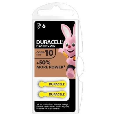 Duracell HA 10 6ks