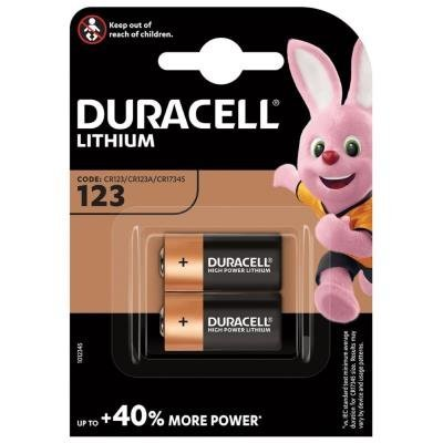 DURACELL CR123 2ks