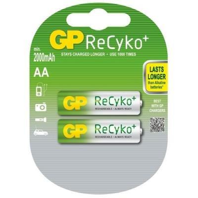 Nabíjecí baterie GP AA NiMH 2100mAh 2ks