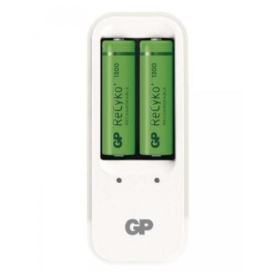 Nabíječka baterií GP PB410 + 2x AA 1300mAh