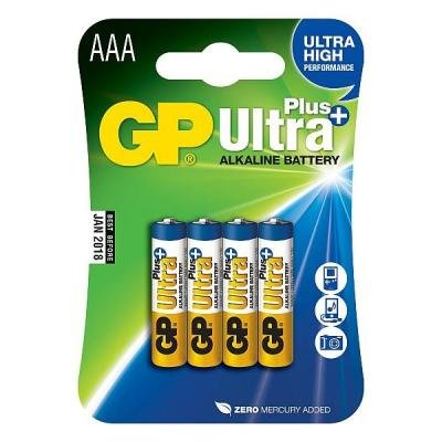 Baterie GP Ultra Plus AAA 4ks